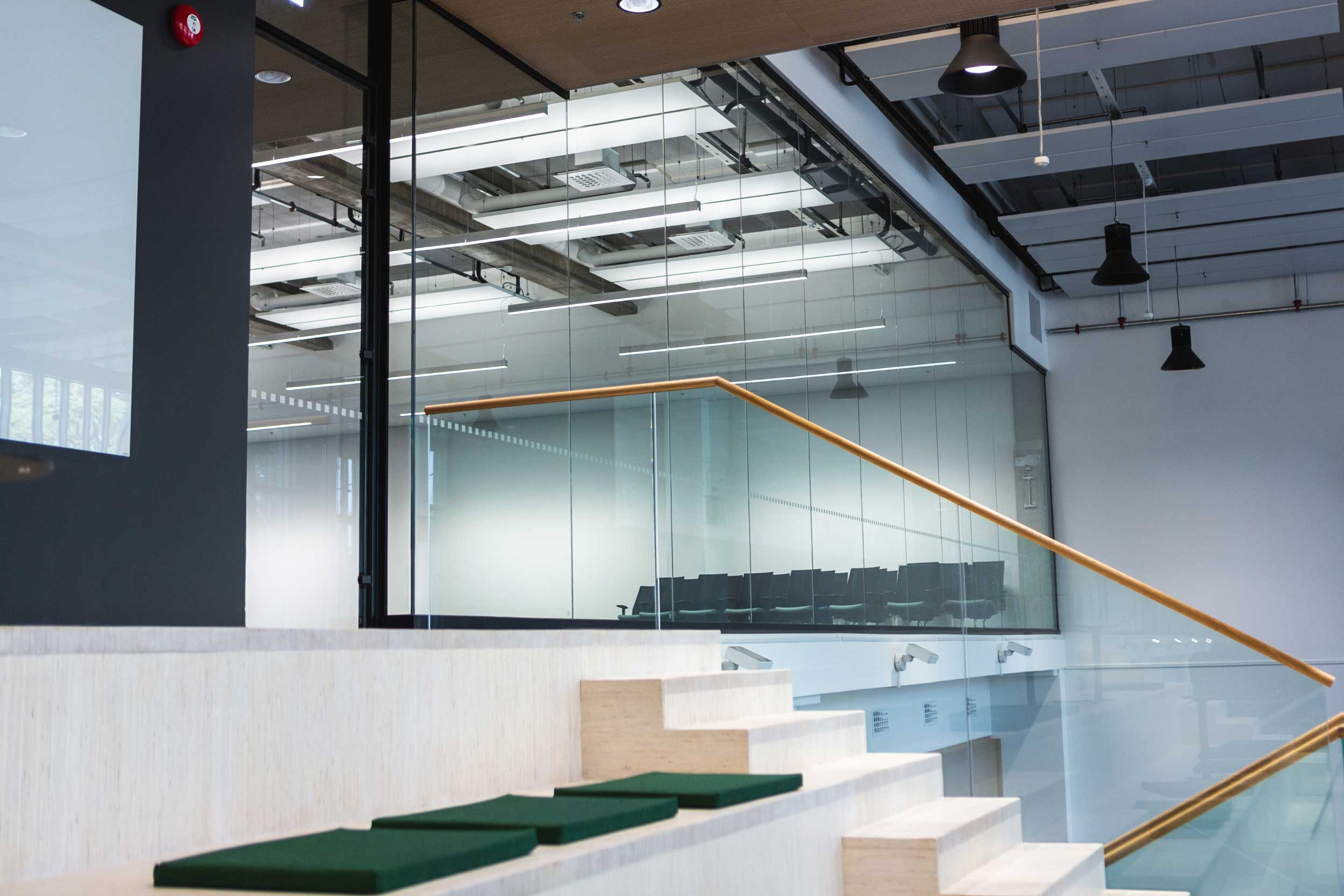 Scanmikael Office glass walls_High glass walls_ABB Vaasa, Finland