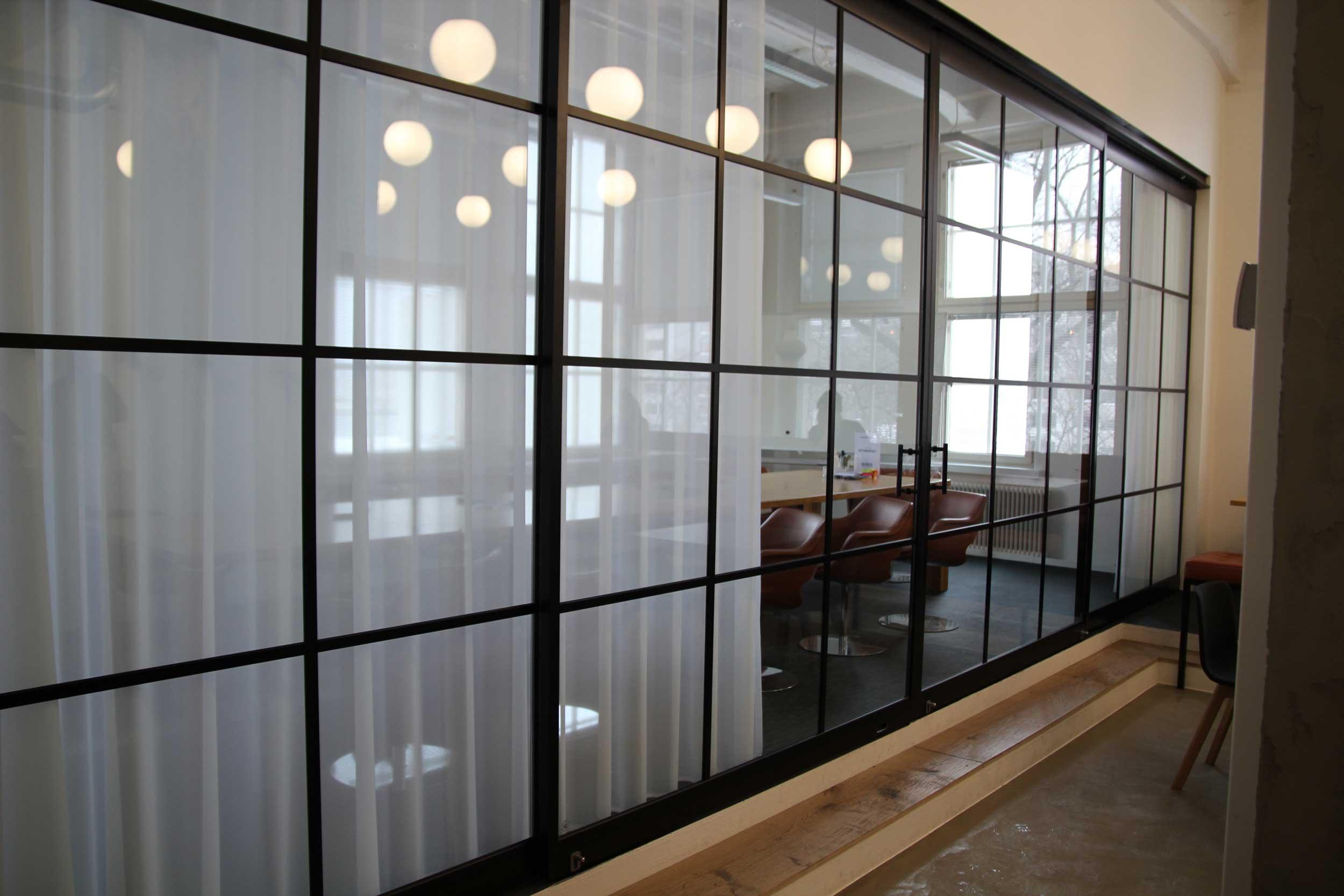 Scanmikael Soundproof glass walls_Merikortteli, Helsinki