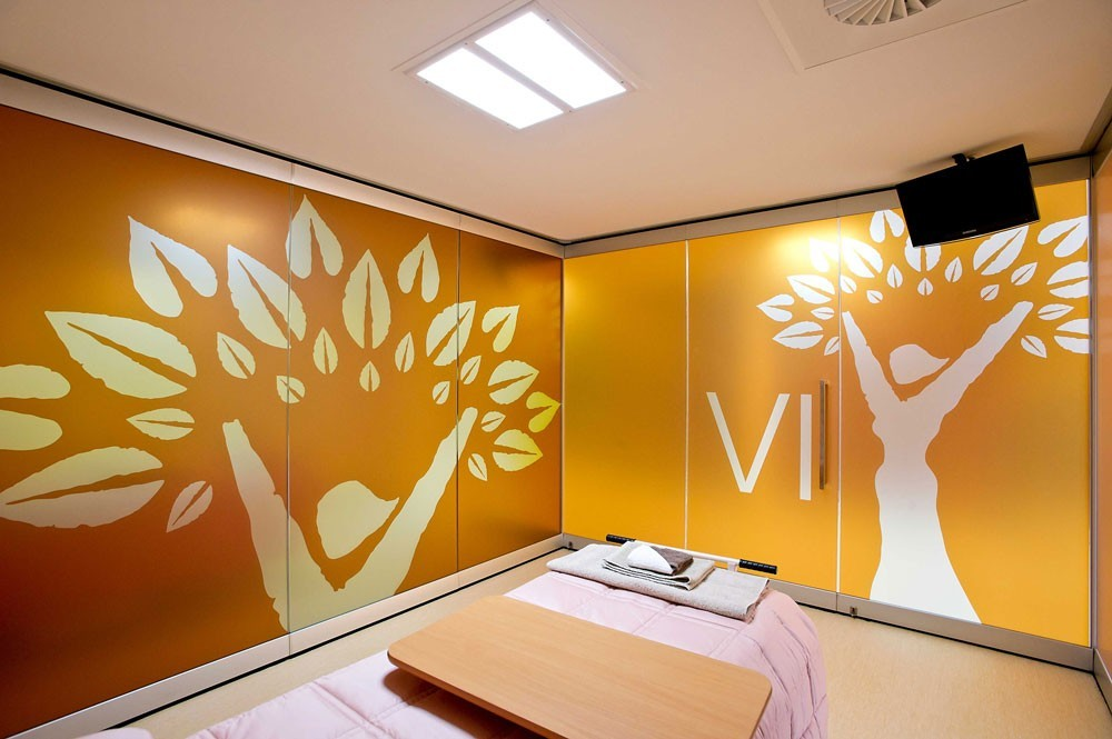 Scanmikael Movable glass walls_Fixed glass walls_Patient room glass walls_Caps Clinic Australia