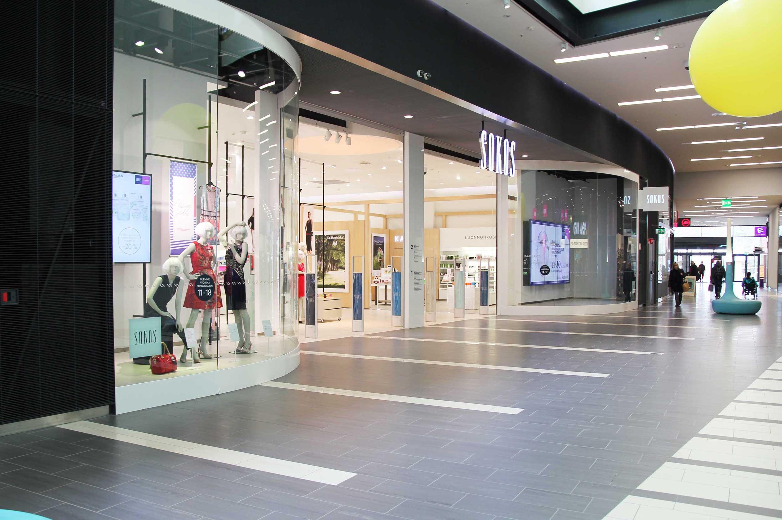 Scanmikael_Shopping centre concept_Kaari, Helsinki