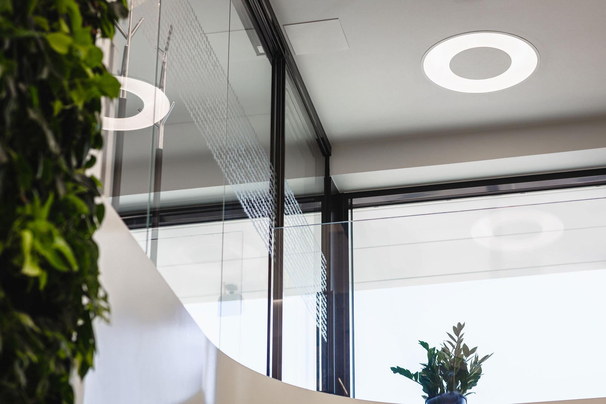 Scanmikael Office glass walls_Glass balustrades_OmaSp, Seinäjoki, Finland